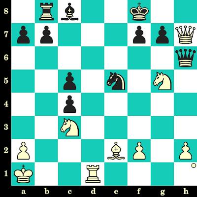Les Blancs jouent et matent en 2 coups - Boris Grachev vs Sergey Chapar, Chalkidiki, 2001