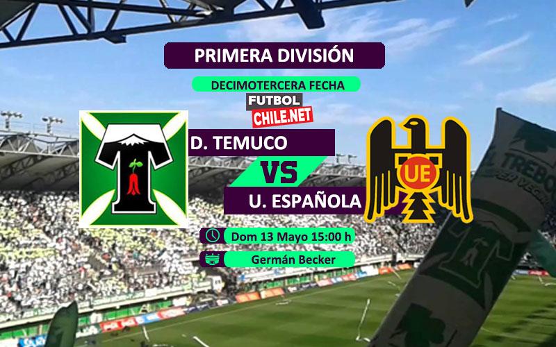 Mira Deportes Temuco vs Unión Española en vivo y online por la Primera División