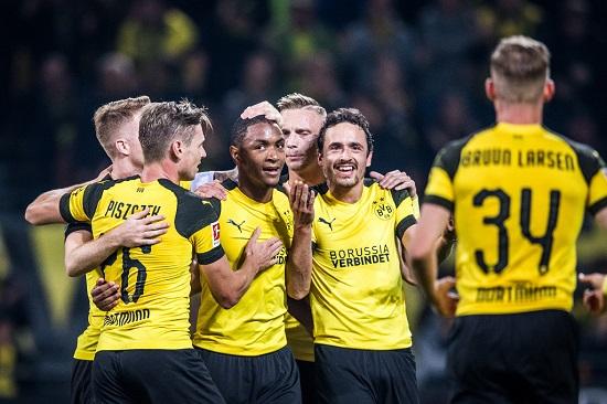 Dortmund mùa trước để tuột mất danh hiệu đầy đáng tiếc.