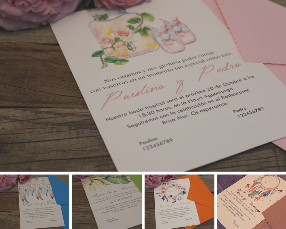 invitaciones de boda almeria