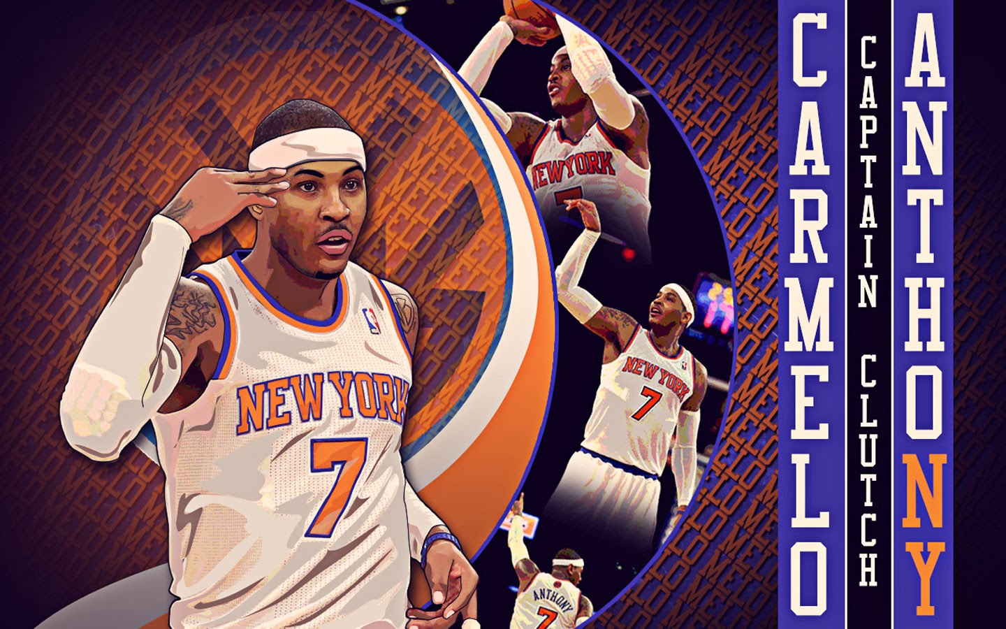 Carmelo Anthony New Wallpaper 2014 - Its All About Basketball