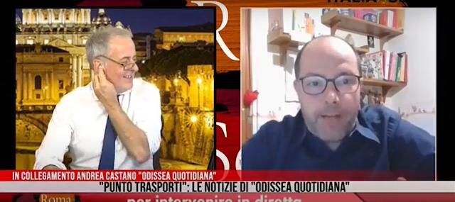 Punto Trasporti - Odissea Quotidiana e Roma di Sera 17/4/2020