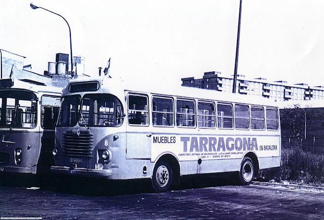 TUSA. Cotxe 8 (Foto col·lecció París)