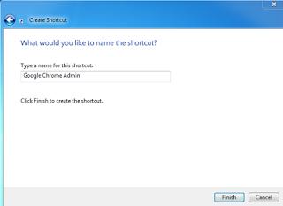 Memberi Nama Shortcut