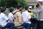 Sat Lantas Polresta Banyumas Berlakukan Ganjil Genap di Akhir Pekan