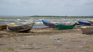 Boat at Lake Xolotlan
