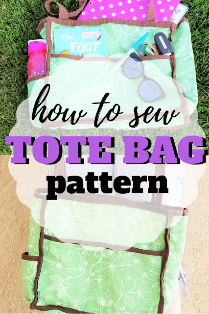Learn how to make a tote bag with this simple step by step tutorial.