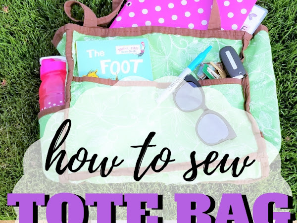 An Easy and Stylish Tote Bag Sewing Pattern