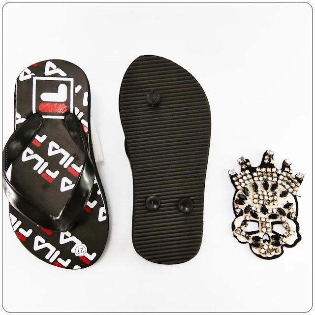 Sandal Anak Sablon Terbaru - Sandal AMX CMR Spon Anak