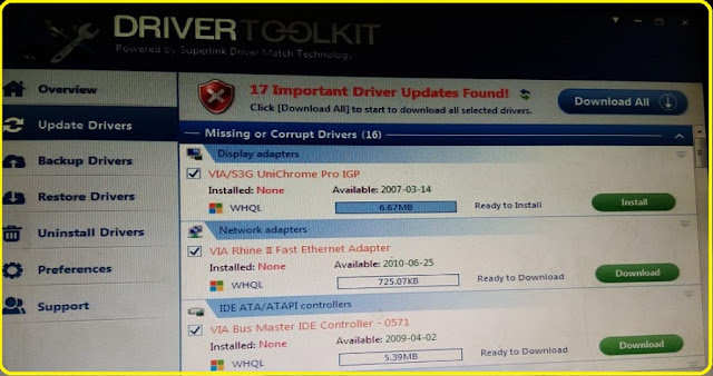serial key and email drivertoolkit