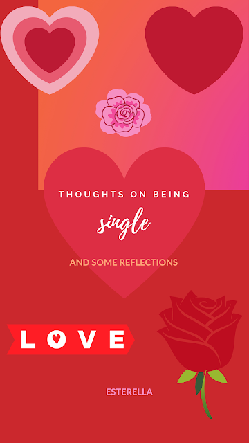 Red hearts and roses graphic