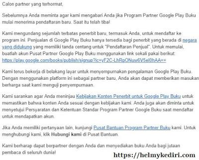 Cara membuat akun google play book1