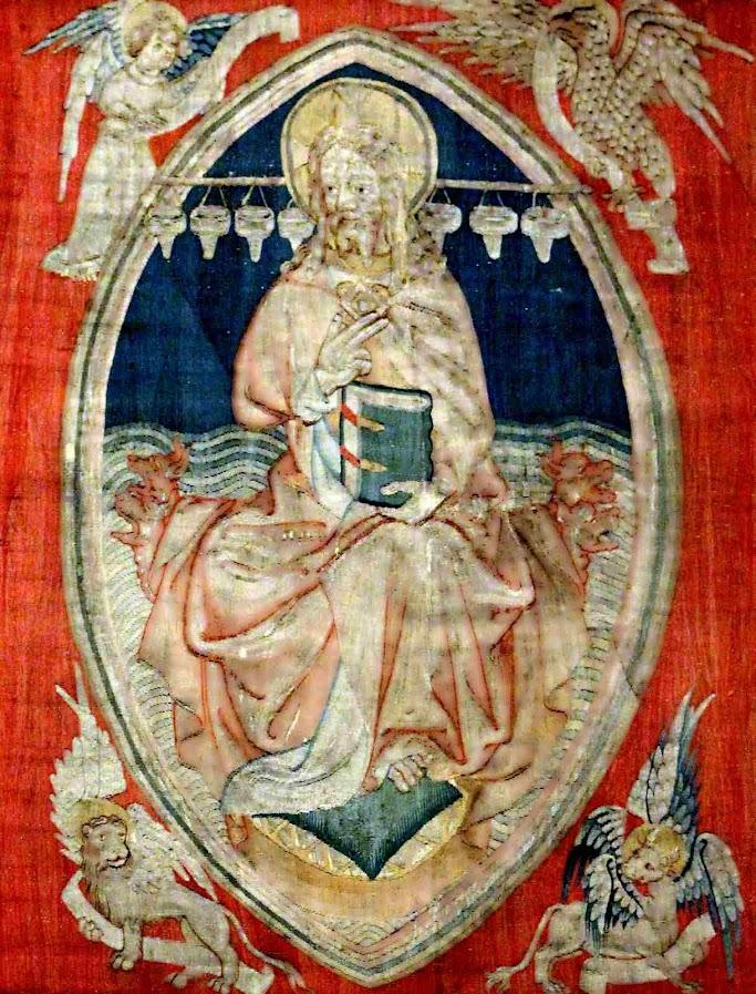 Cristo em majestade, Tapeçaria do Apocalipse, Angers.