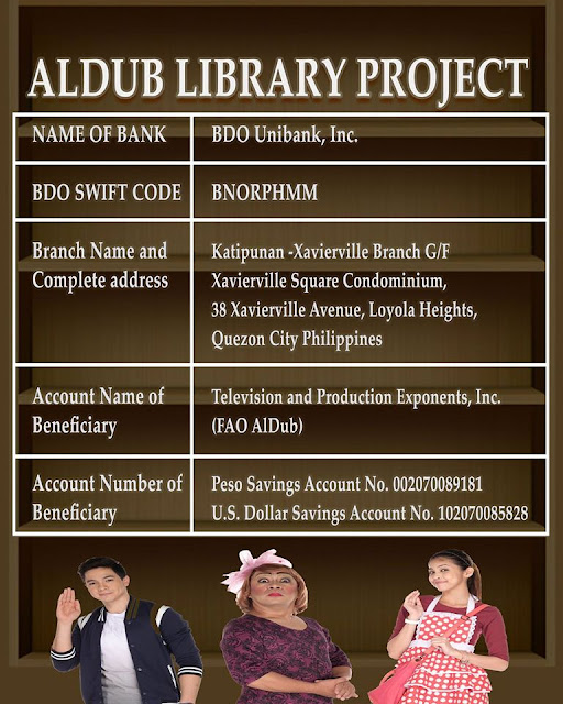 AlDub Library Project