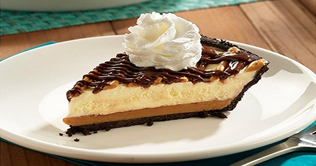 No Bake Peanut Butter Iceberg Pie Recipe
