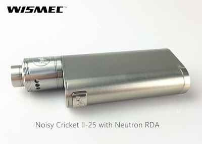 The Noisy Cricket II-25 launched at wismec.org