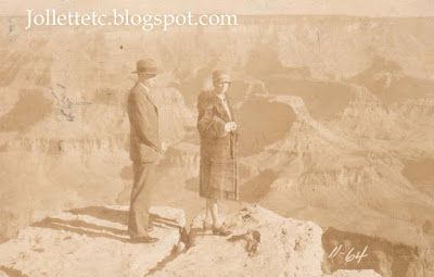 Helen Parker at the Grand Canyon 1920s or 30s  http://jollettetc.blogspot.com