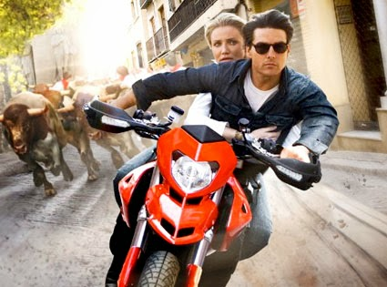 Tom Cruise in Knight and Day