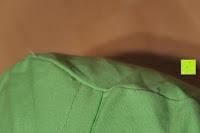 Faden: Rundes Yoga Bolster »Krishna« mit Bio-Dinkelspelz (kbA) / Länge ca 68cm & Durchmesser ca 22cm - ideal als Yogakissen / Zafukissen / Meditationskissen / Meditiationsunterlage - hoher Sitz-Komfort dank Dinkelspelzfüllung / maschinenwaschbar & hautfreundlich. Ideale Hilfsmittel / Accessoire (Sitzkissen) für längere Meditationen. Material : 100% Baumwolle