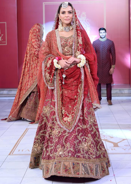 HSY gulabo bridal dress