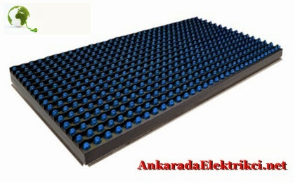 Mavi Led Panel, Mavi Led Tabela