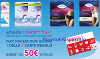 Logo Tena premia la tua spesa 2019: vinci buoni spesa Bennet da 50€