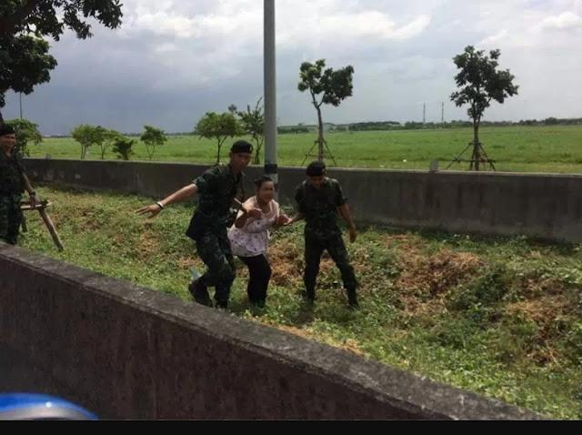 Emak-emak yang super Biker itu telah diamankan petugas kepolisian