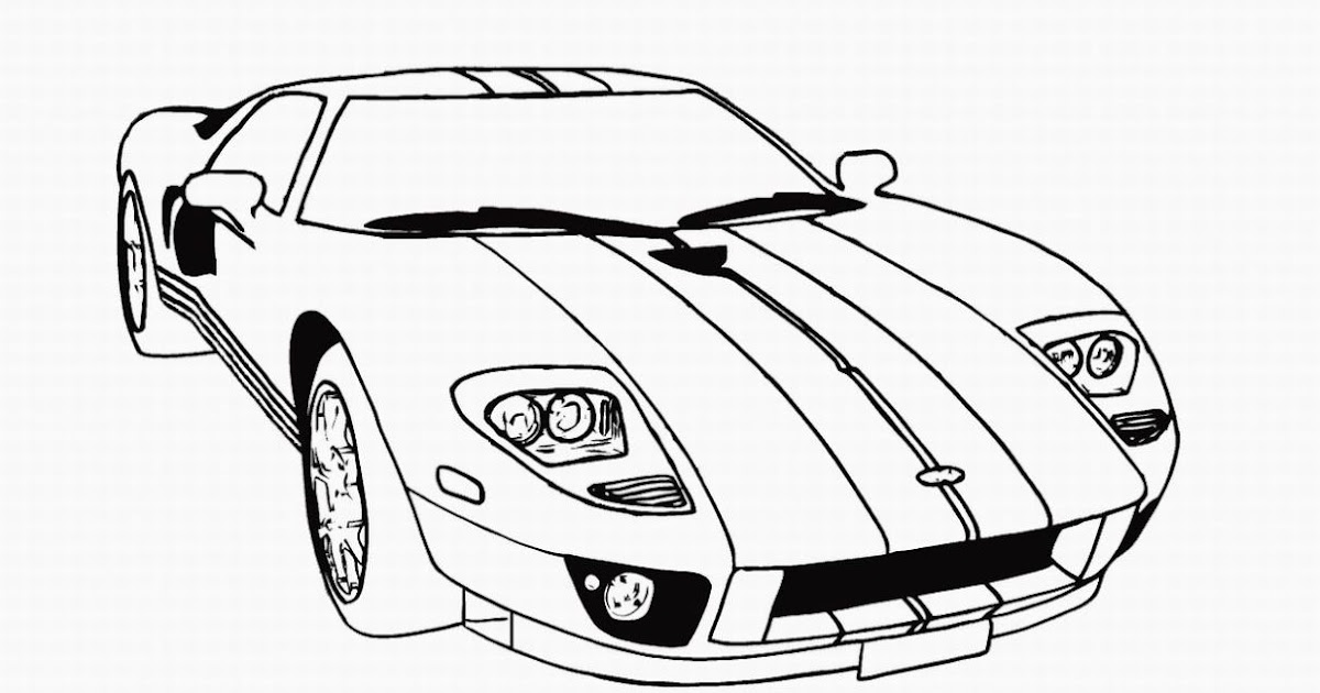 Coloring Cars Coloring Pages For Kids Printable