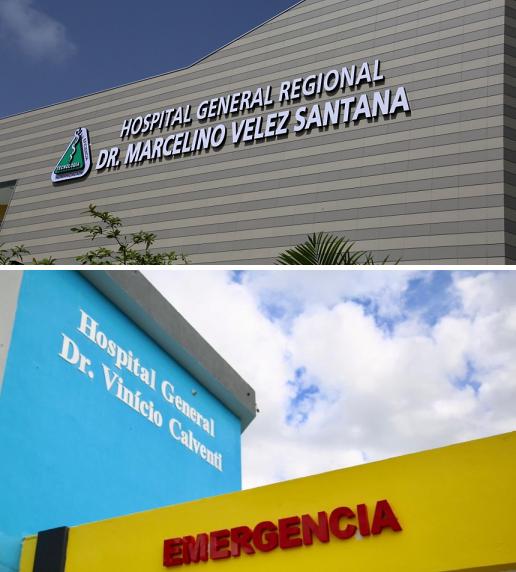 Empleados de los hospitales Marcelino Vélez y Vinicio Calventi reclaman sueldos y retroactivos atrasados