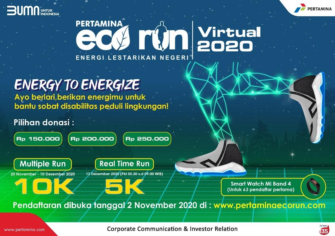 Pertamina Virtual Eco Run • 2020