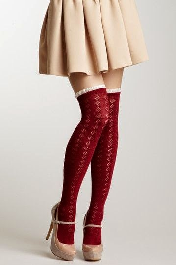 e9c6c6e06 Knee high socks are trending this fall - a style I find utterly casual and  romantic. To be honest