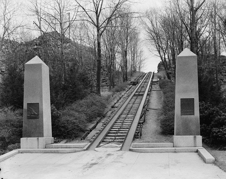 El primer ferrocarril comercial de Estados Unidos