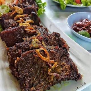 Menu Ramadhan - Empal Gepuk Olahan Daging Sapi