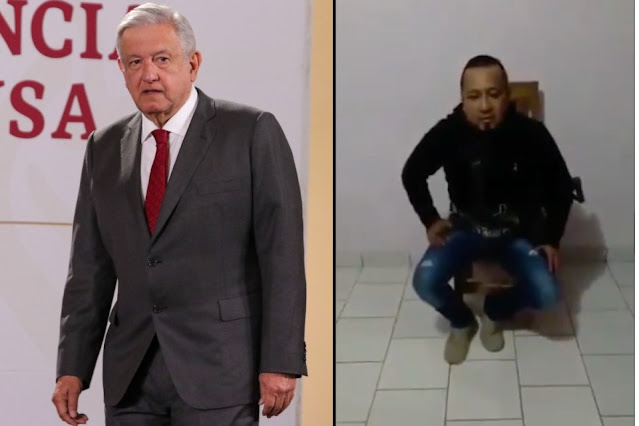 Video: El Presidente Andrés Manuel denuncia que El Marro líder de El CDSRL lo amenazo