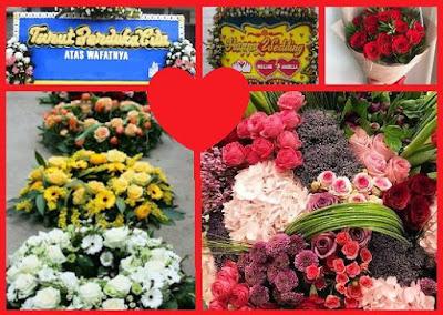 tempat pesan karangan bunga, buket dan tanaman hias