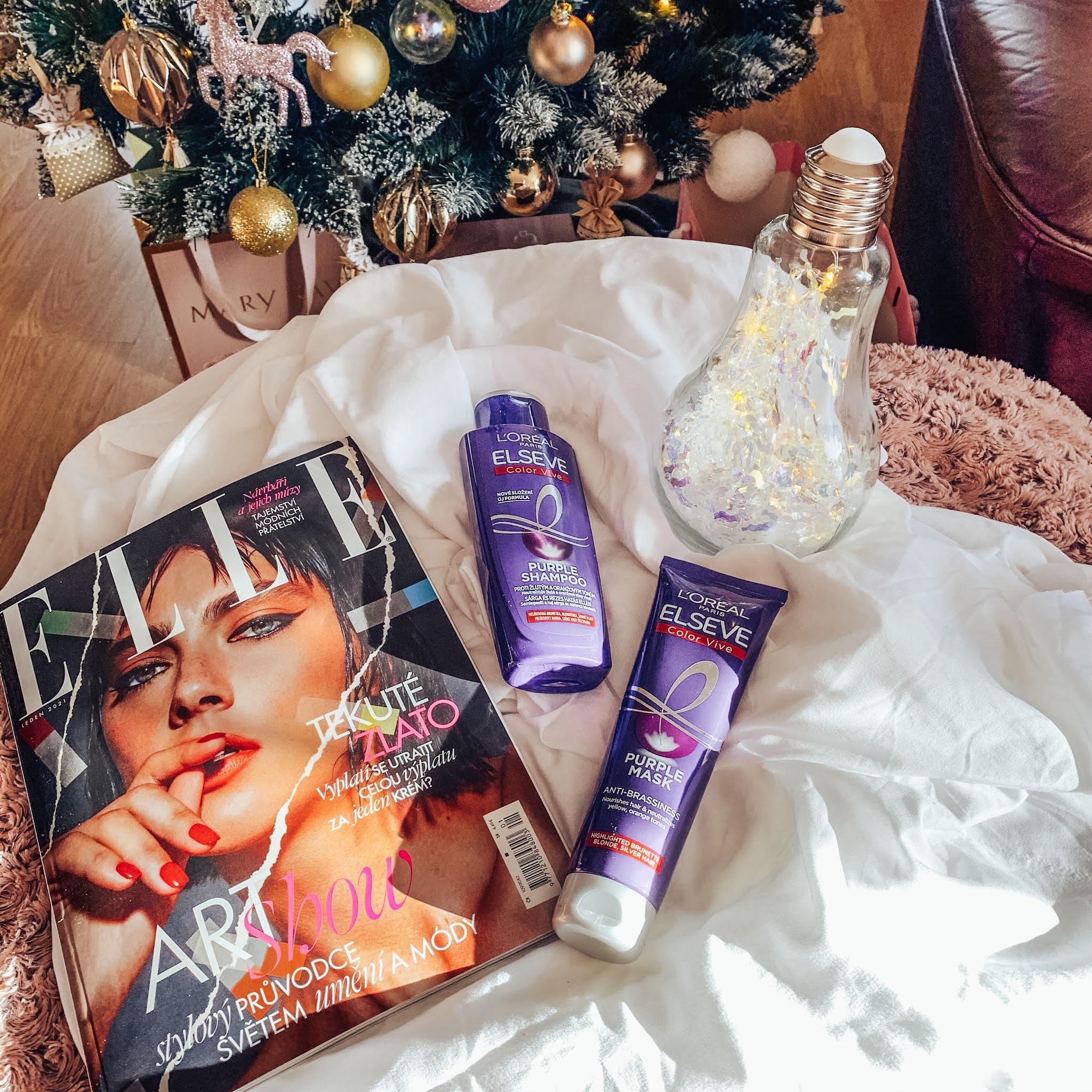 L'Oréal Paris Elseve Color-Vive Purple notino.sk