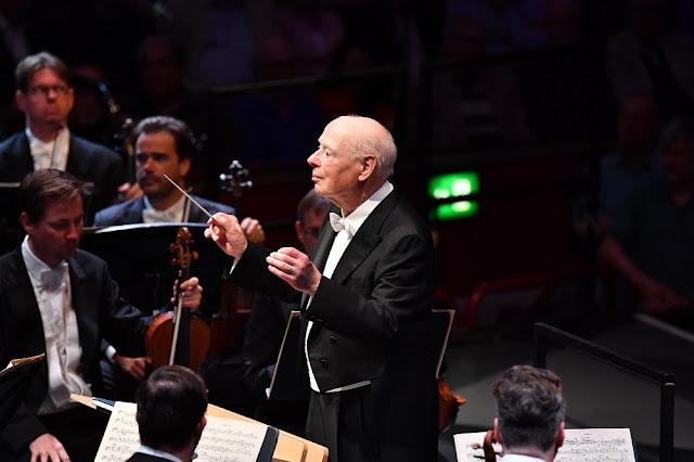 Prom 60 - Bernard Haitink, Vienna Philharmonic Orchestra - BBC Proms (Photo BBC / Chris Christodoulou)