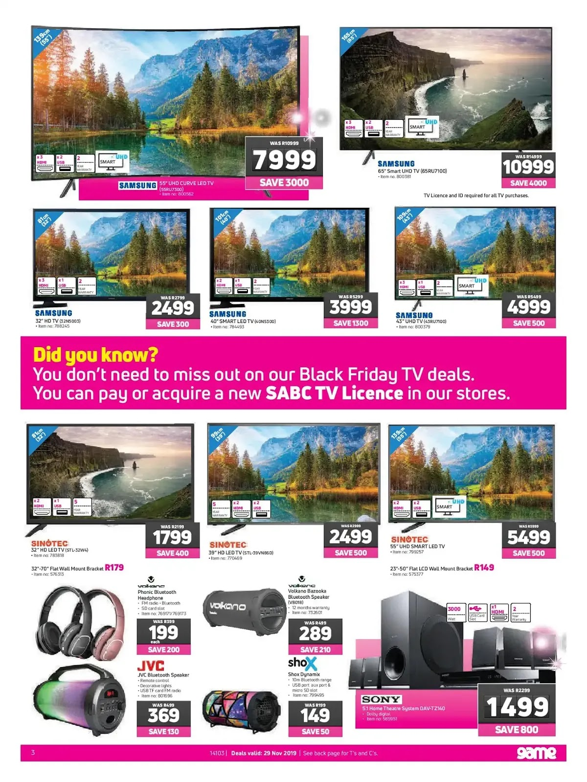 Game Black Friday 2019 Page 3