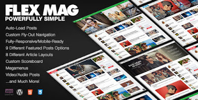 designwordpress Flex Mag Responsive WordPress News Theme Download Free [Version 1.05]