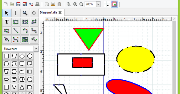 Free Diagram Flow Chart Drawing Software Toptrix