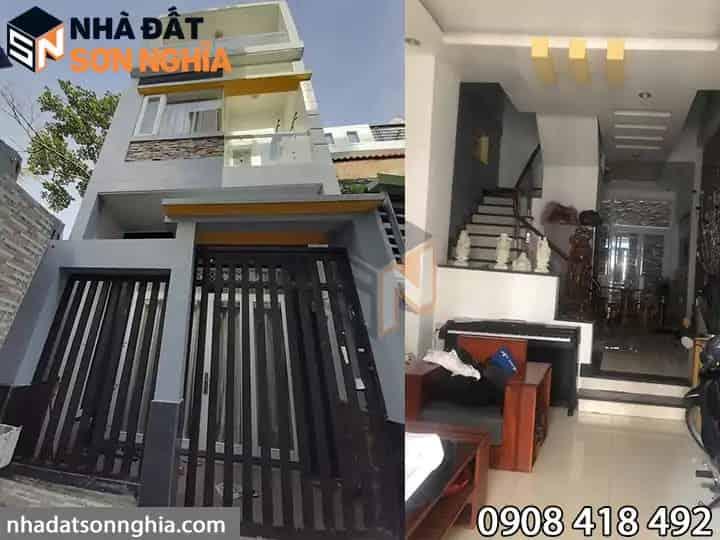 nhà Gò Vấp phường 8 4.5 tỷ MS 027