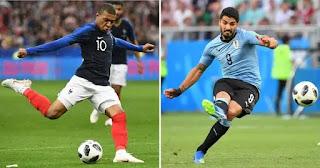 بث مباشر مشاهدة فرنسا واوروجواي France vs Uruguay يلا شوت اليوم 6-7-2018 بين ماتش مباريات كأس العالم
