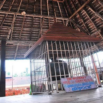 Mizhavu of Kunjan Nambiar in Ambalapuzha Sree Krishna Temple Kerala