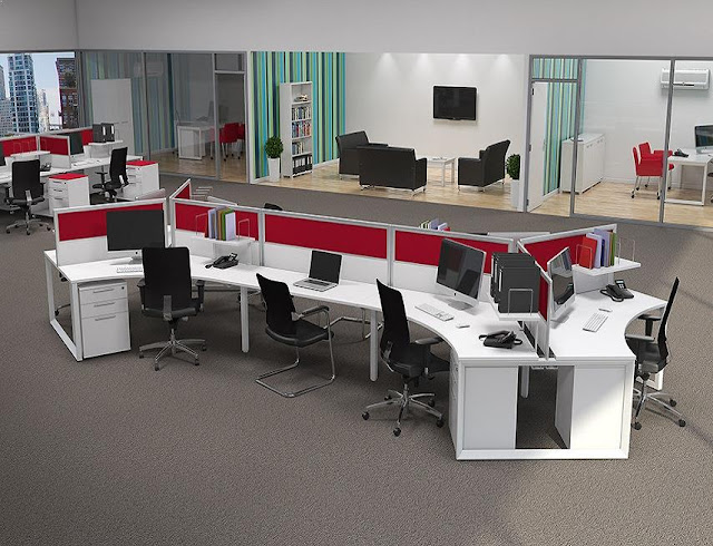 best buy white red modern office furniture Miami FL for sale