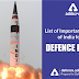 List of Important Missiles of India for all Defence exams