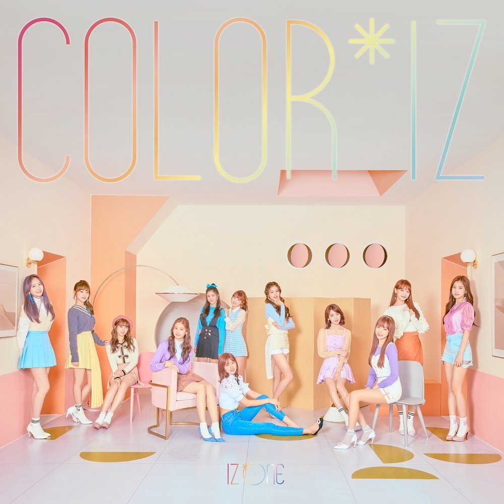 IZ*ONE – COLOR*IZ – EP (FLAC + ITUNES PLUS AAC M4A)
