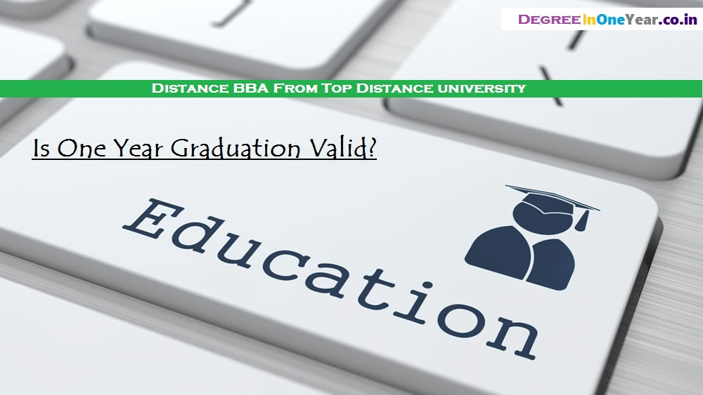 BBA Course in One Year - BBA Top Distance Education University