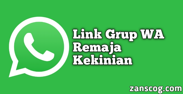 Link Grup WA Remaja Kekinian