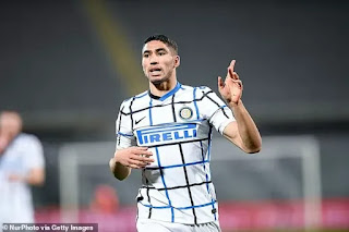 Kevin Campbell urges Arsenal to sign Inter Milan right-back Achraf Hakimi