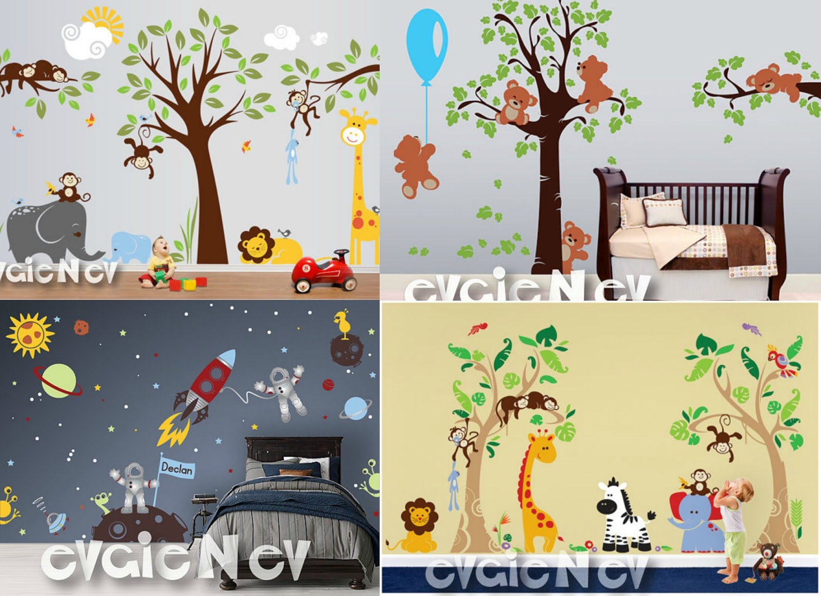 Hanging Off The Wire: EvgieNev Wall Decal Nursery Giveaway 9/11 - 9/29